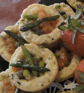 Fort Lauderdale Personal Chef - Provencal Asparagus Tartlet Recipe