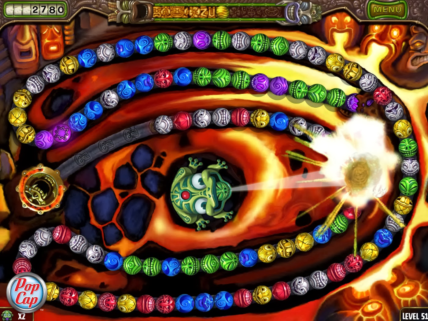 Free Download Game Zuma Revenge Full Version For Pc