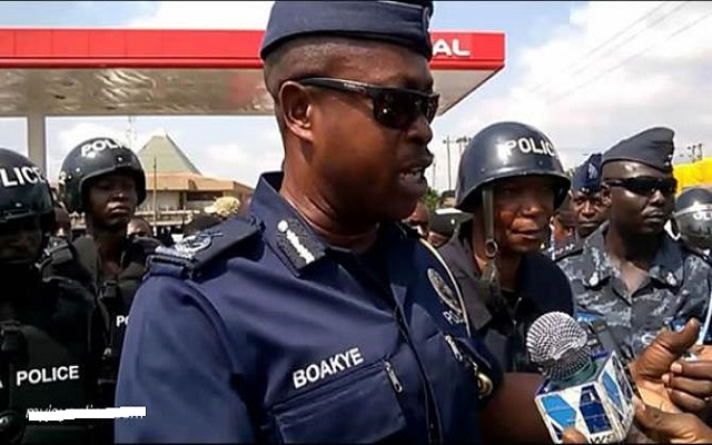 I will not hesitate to arrest and lock up Wontumi - COP Kofi Boakye