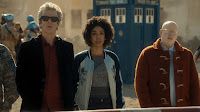 The Doctor, Bill and Nardole