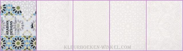 kleurboek  PK 10 arabian designs