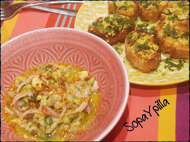 Ceviche De Berberechos Y Pan Con Limón De #gipsy Chef