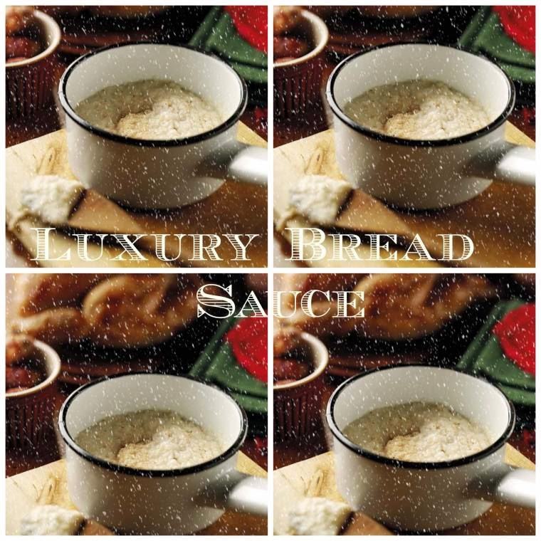 Luxury Bread Sauce: Christmas Day Side Recipes