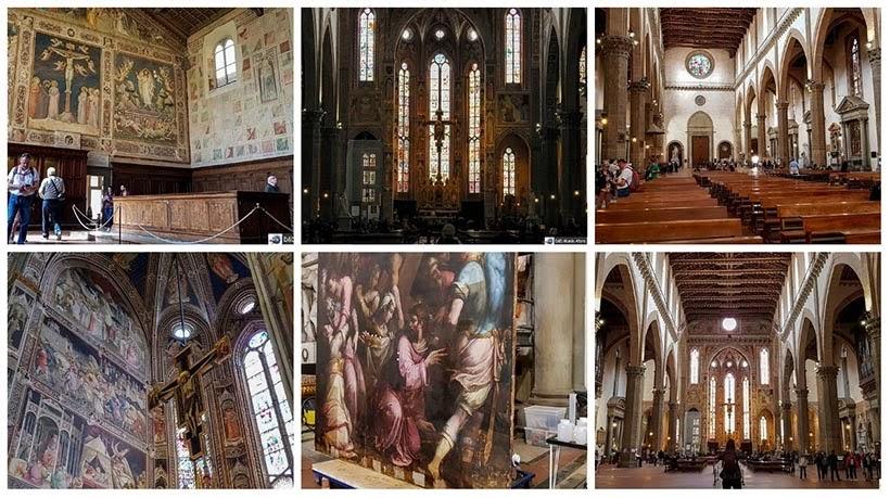 Igreja de Santa Croce. Diário de bordo - 2 dias em Florença