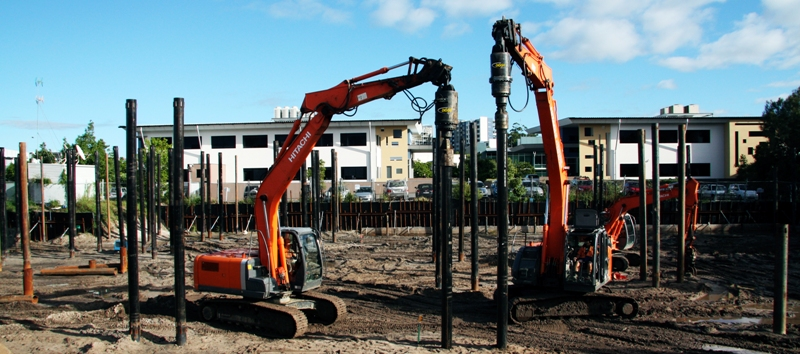 Using the Digga screw anchor drives for screw piling - customer review