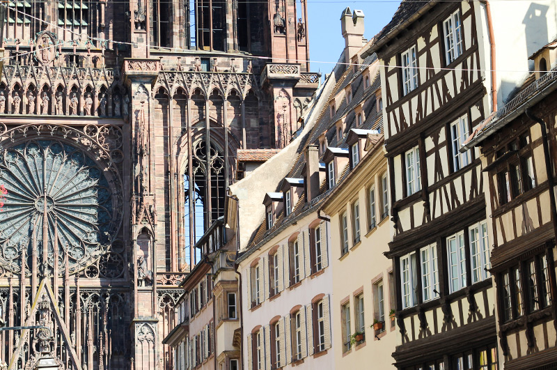 Srasbourg Cathédrale rue Mercière