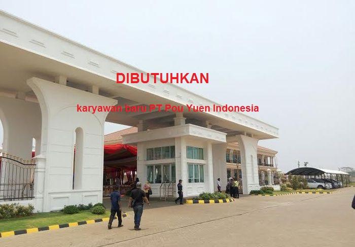 Info Lowongan PT Pou Yuen Indonesia Cianjur Terbaru