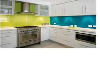 Dapur Rumah Minimalis Colorfull Terbaru