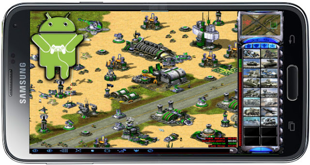 طريقة تشغيل لعبة RED ALERT 2 على هاتف الاندرويد عبر تطبيق EXAGEAR بدون بث