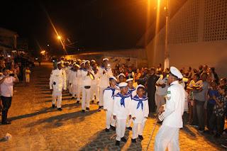 Chegança de Maruim realiza primeira apresentação