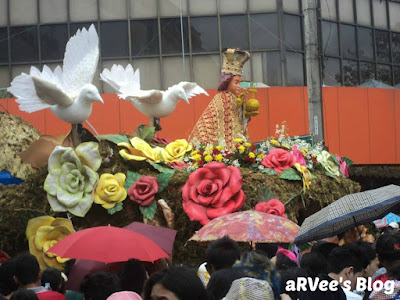 one of the float entries in Sinulog Festival in Cebu Philippines