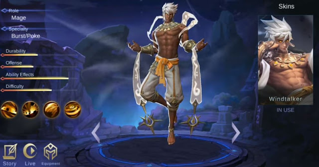 Hero Baru Vale Mobile  legend