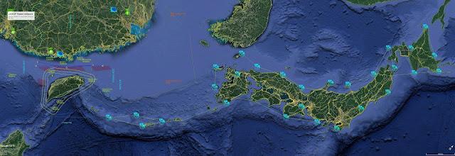 JASDF Radar & Troposcatter Networks