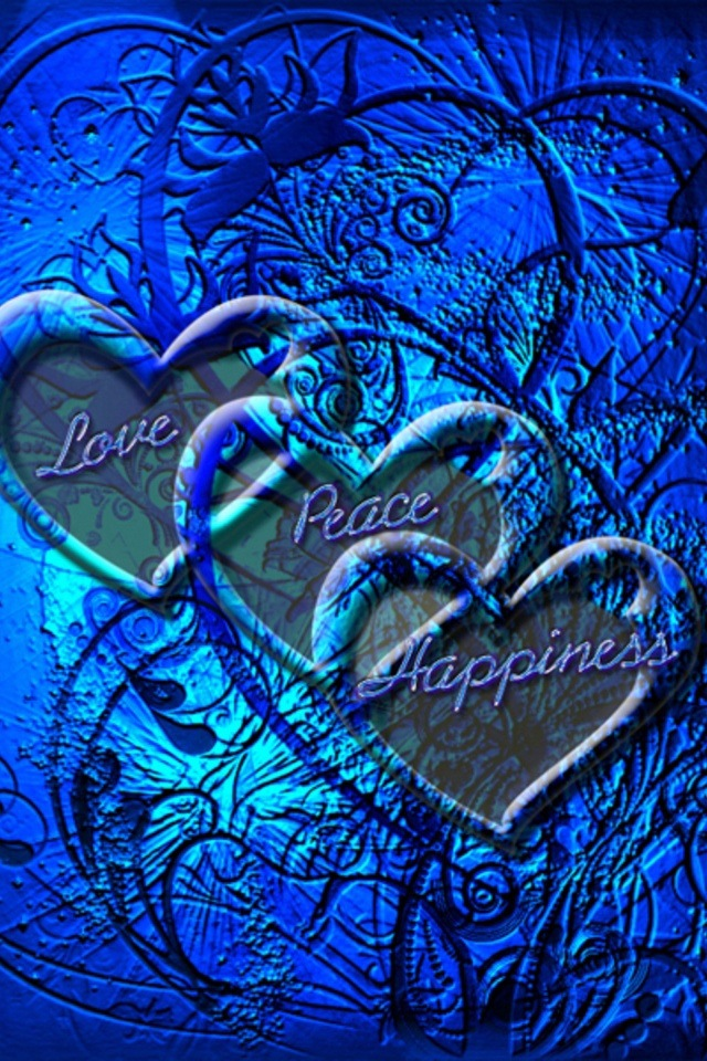 Blue Hearts And Roses And Stars I have blue heart art