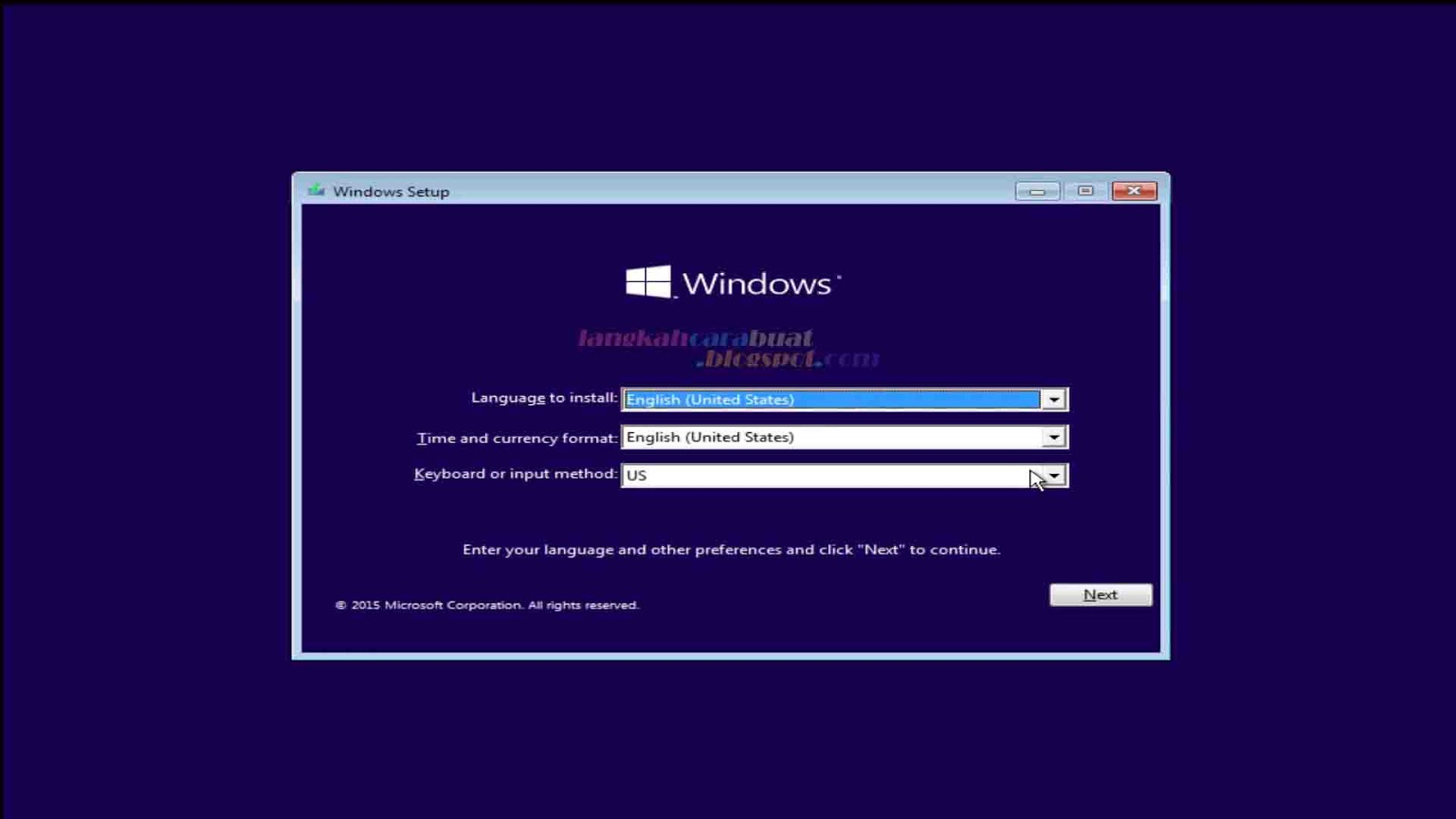 Cara Instal Ulang Komputer / Laptop Menggunakan OS Windows 10 Terbaru ...