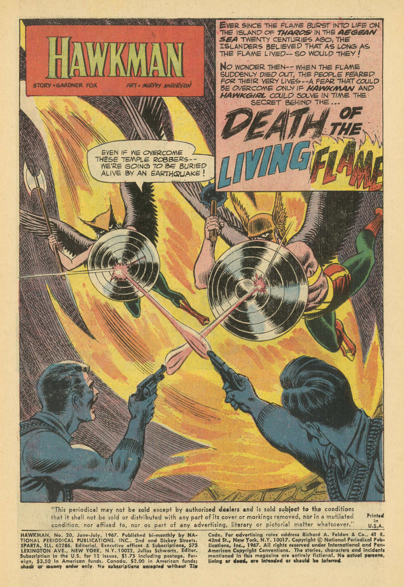 Hawkman (1964) issue 20 - Page 3