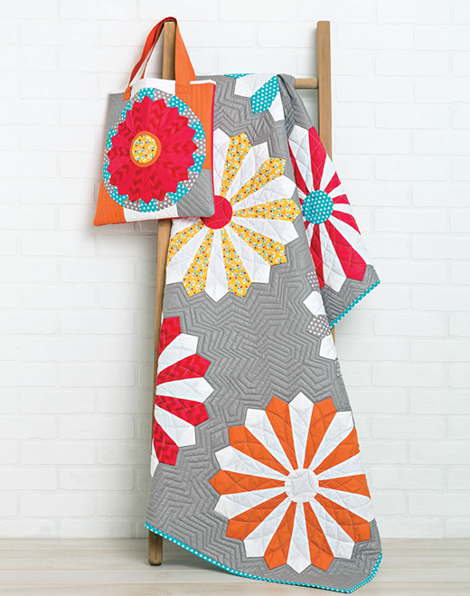 Dresden Quilt and Bag Free Pattern designed by Simplicity Creative Group