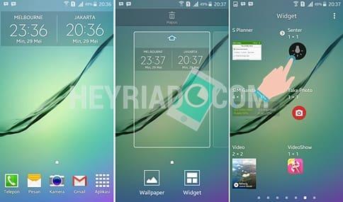 Cara Menghidupkan Senter hp Samsung