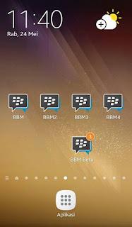 Dual BBM v3.3.4.48 APK Terbaru