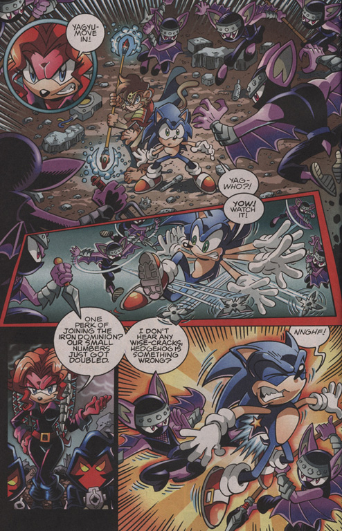 Read online Sonic The Hedgehog comic -  Issue #202 - 5