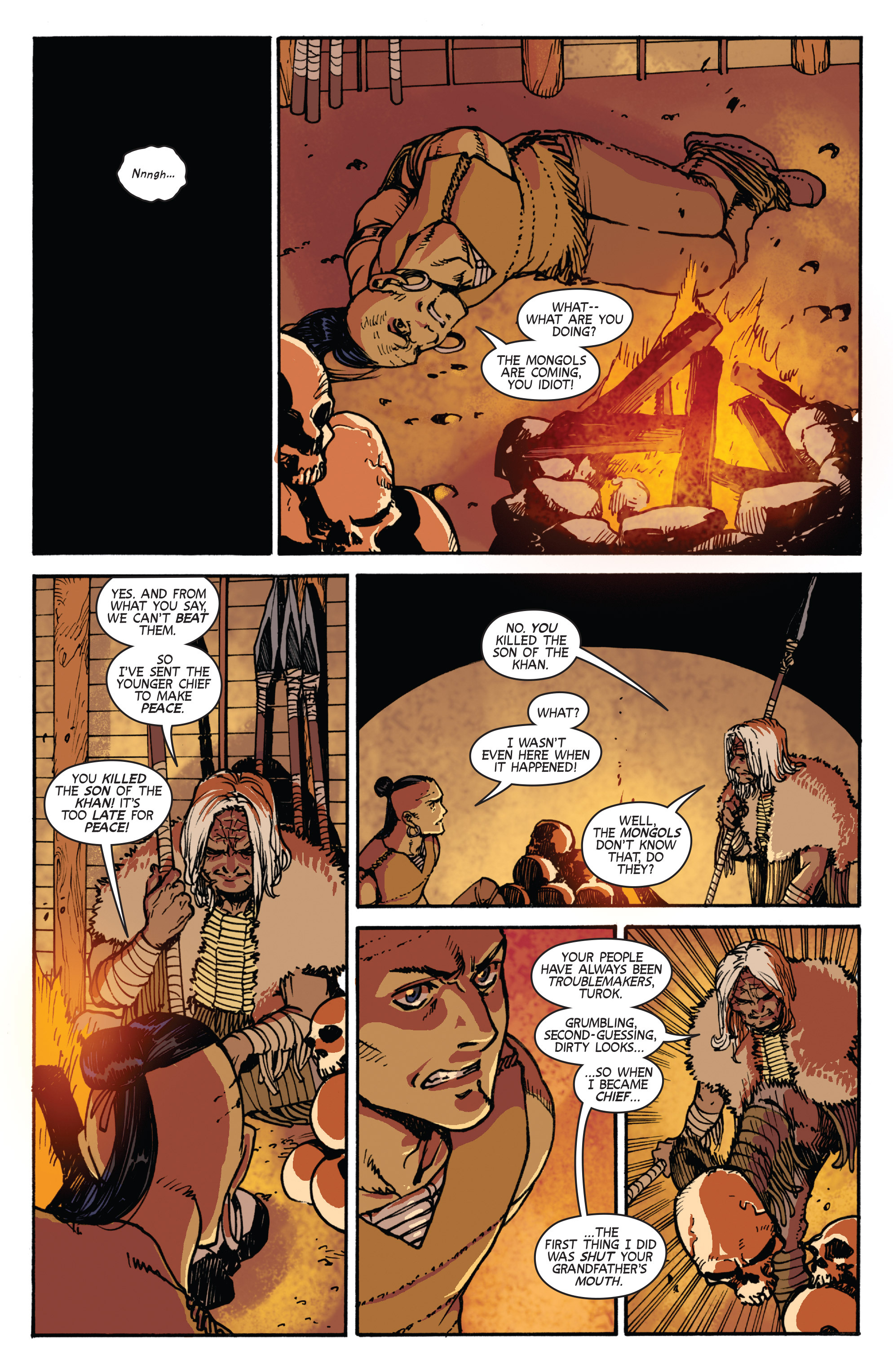 Read online Turok: Dinosaur Hunter (2014) comic -  Issue # _TPB 2 - 72