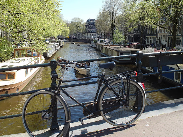 Amsterdam med cykel