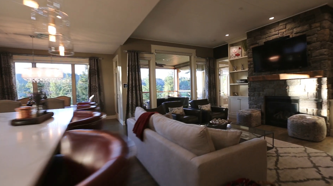 Luxury Home Interior Design Tour vs. 302 Dormie Point, Vernon, BC - Sotheby's International Realty Canada