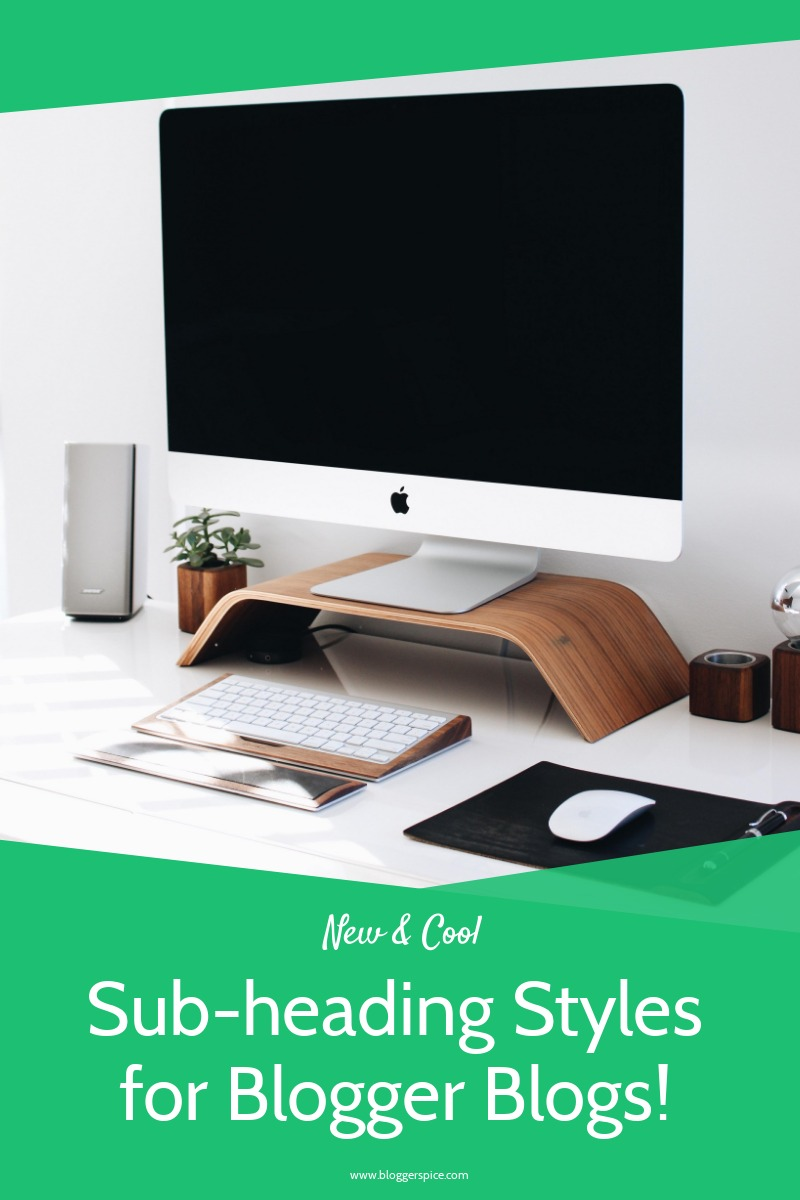 10 stylish Sub-Heading Design for Blogger Blog Post (H3 Design)