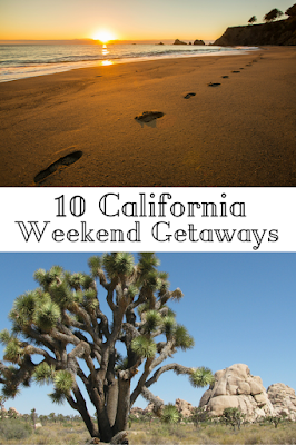 Travel the World: 10 unique California weekend getaway ideas for travelers who can't take a lot of time off.
