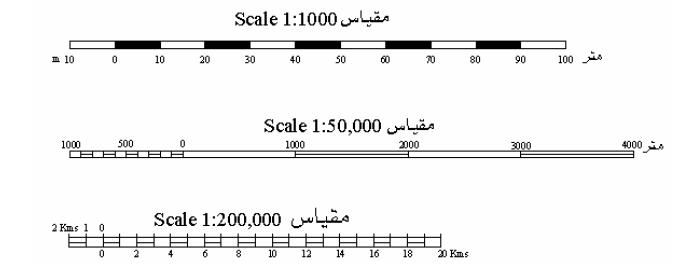 مقياس الرسم الشبكى بيت المساحة