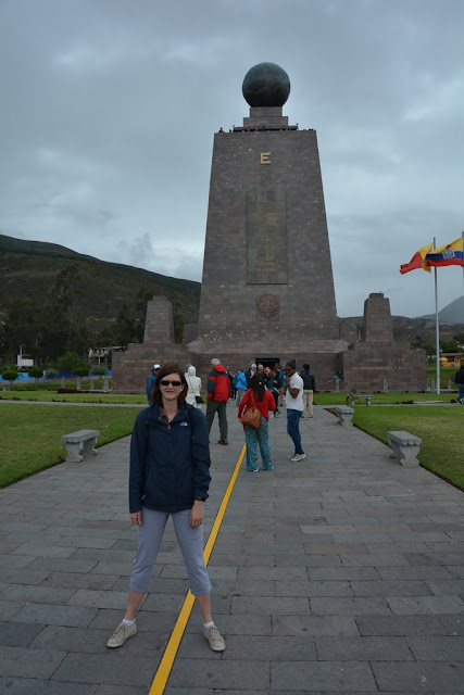 Equator line Quito