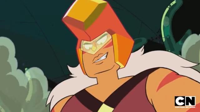 Jasper's game face