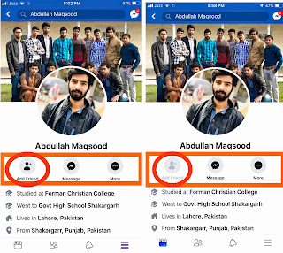 How To Hide Add Friend button On Facebook, abultimateguides