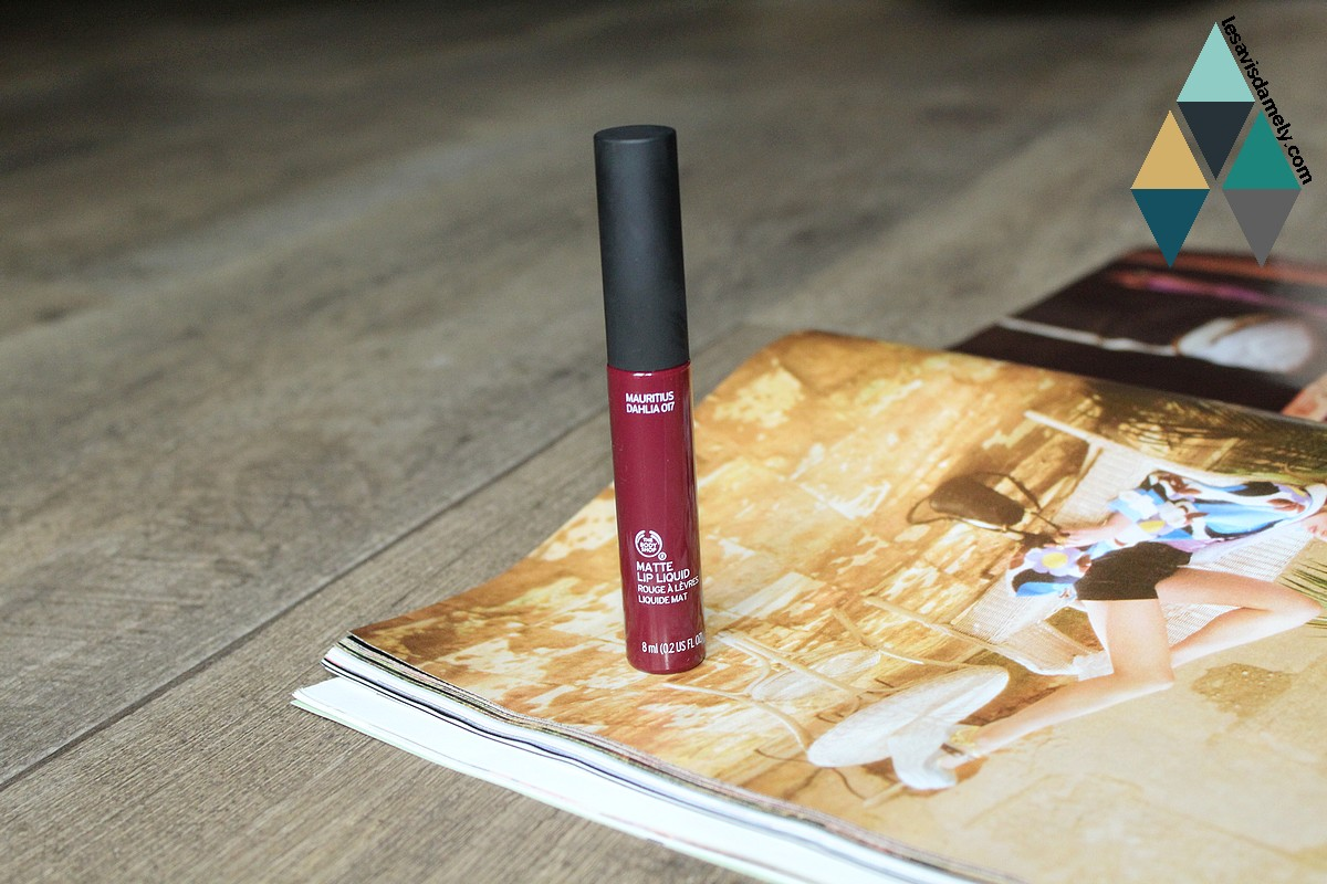rouge à lèvres liquides mats avis