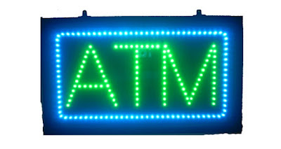 Buy this green and blue ATM sign at AffordableLED.com