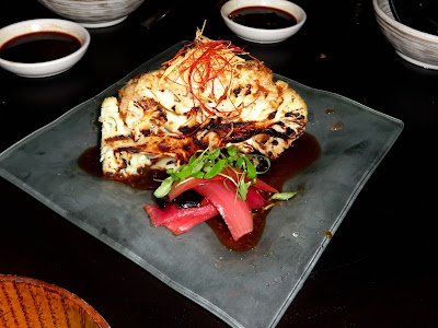 robata grilled cauliflower Japanese cuisine