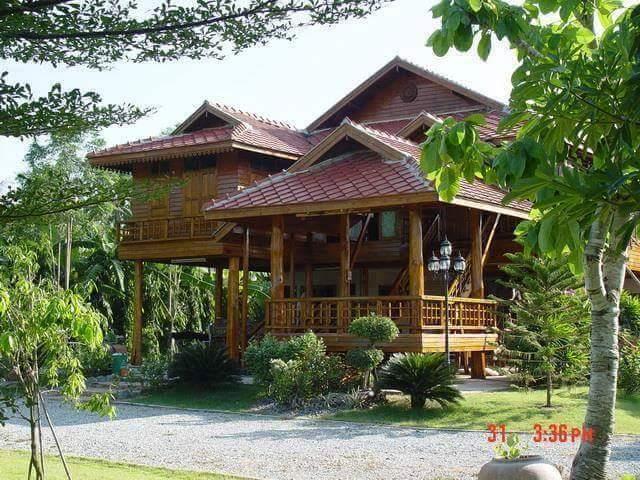 Banco de im genes caba as y casitas de madera con dise o for Cabanas de jardin