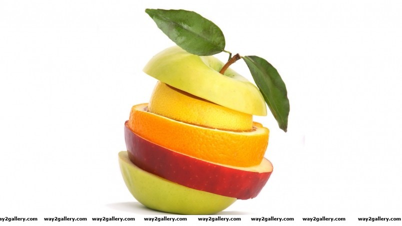 Fruit stack wallpaper