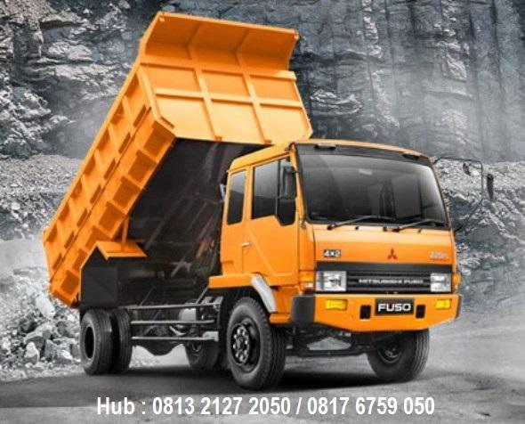 kredit mobil fuso dump truck 2019 dp ringan