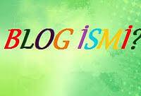 blog isim önerisi