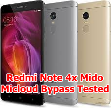 Bypass Micloud Redmi Note 4x