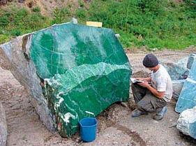 Nephrite Boulder