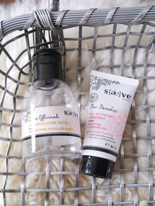 Saeve Detoxifying Micellar Water, Purifying Cleansing Gel