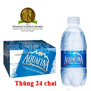 nuoc tinh khiet aquafina 350ml