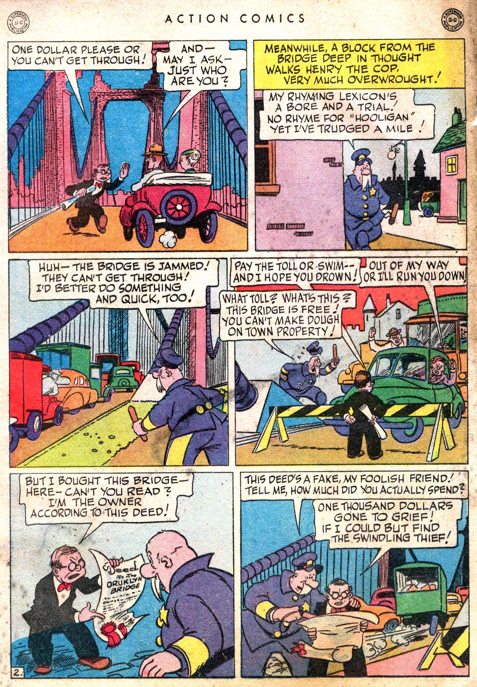 Read online Action Comics (1938) comic -  Issue #101 - 25