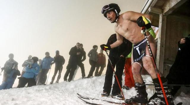 Balapan Ski Bugil