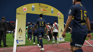 PES 2019 Argentina Entrance ( Superliga + Copa + Supercopa ) by Nahue