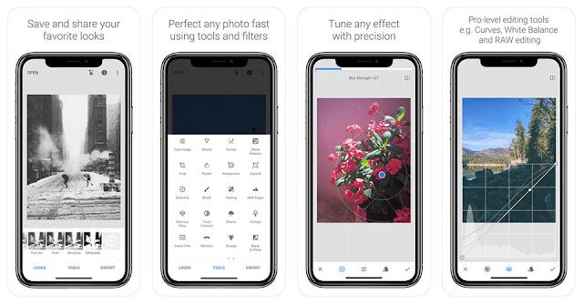 5 ứng dụng chỉnh sửa ảnh trên Iphone tốt nhất 2018