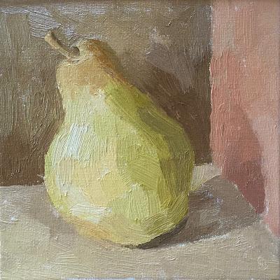#35 'Comice Pear' 6×6″