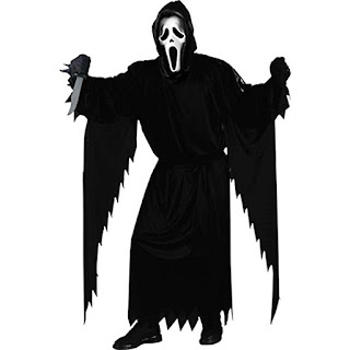Scream Movie,Ghost Face, Halloween Costume, Horror Movie Costume, Stephen KIng Store